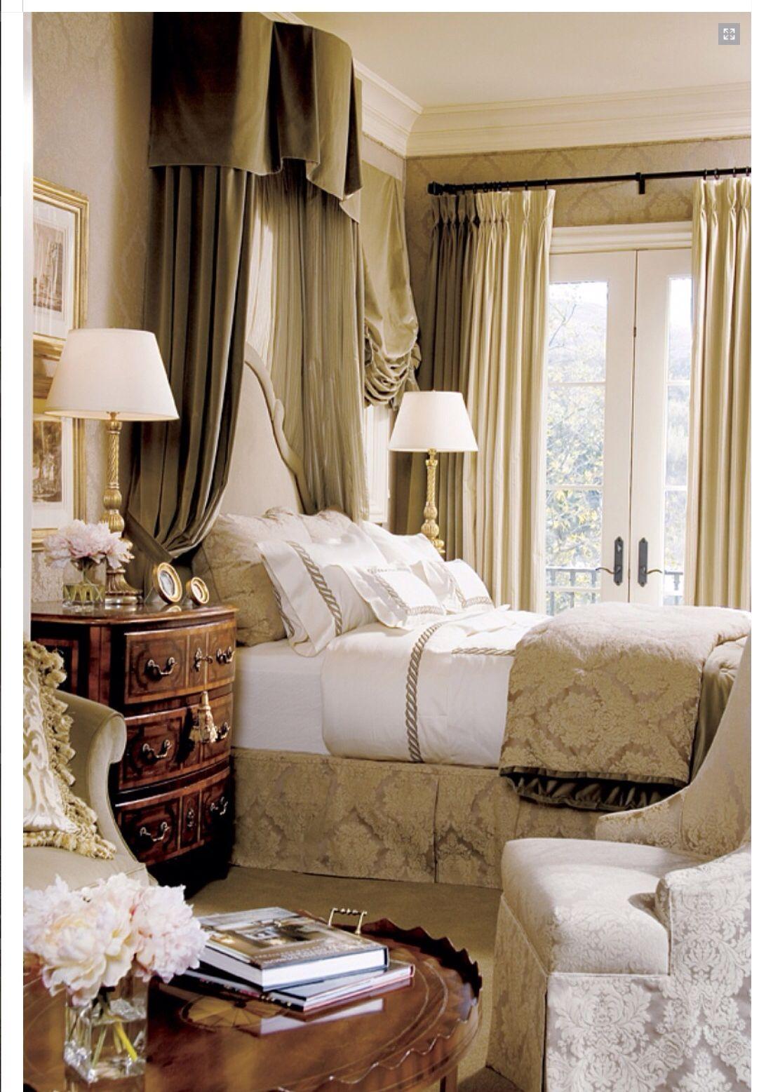 Elegant bedroom | Old World Decorating | Pinterest | Bedrooms ...