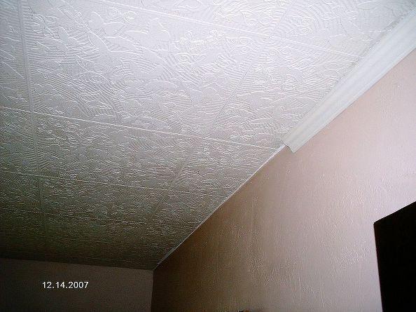 Diy Styrofoam Ceiling Tile Over Water