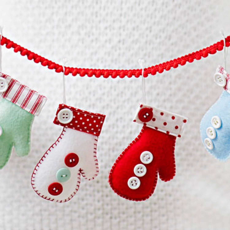 Give \'Em a Hand | Handmade Ornaments | Pinterest | Decoracion ...