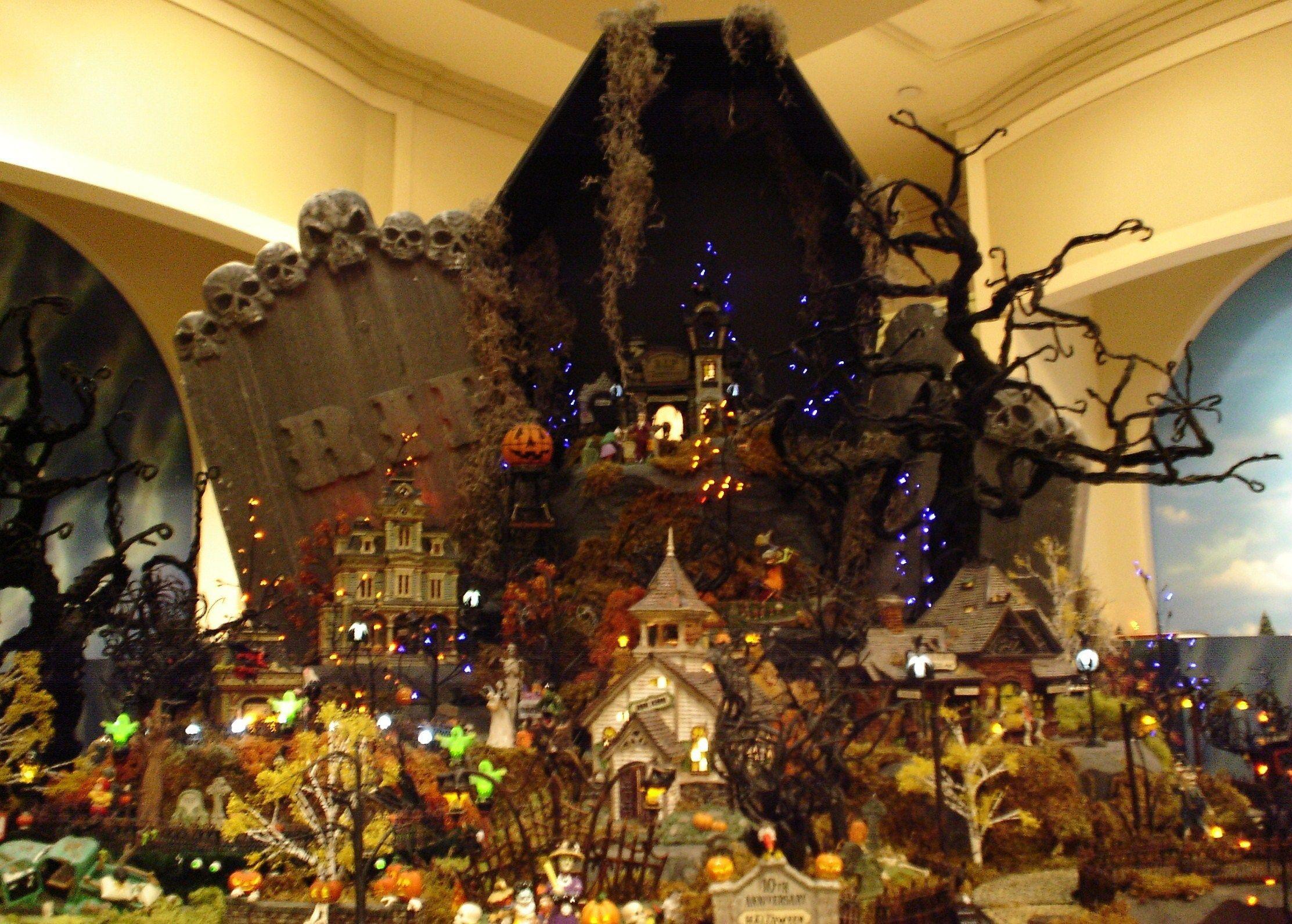Get More Creative With My Halloween Village   Halloween ...