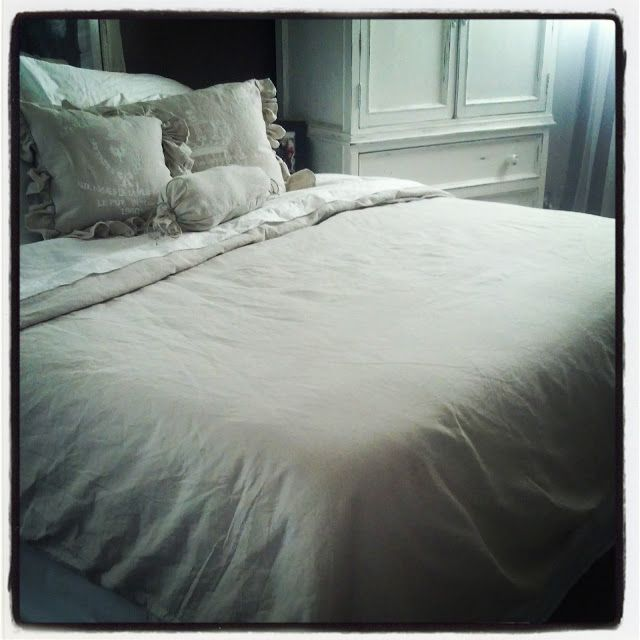 This Ol House Thursday New Bed New Bedding Duvet Cover Diy