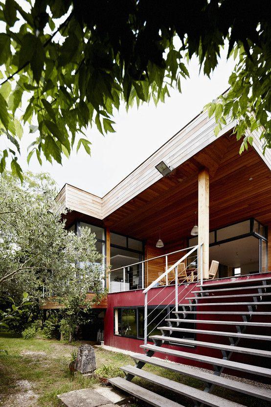 Extension maison m33 maisons modernes par atelier darchitecture brut de déco a²b2d https