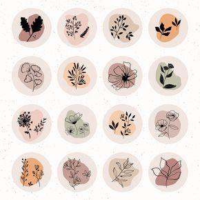 Botanicals Wildflowers | Instagram Highlight Cover