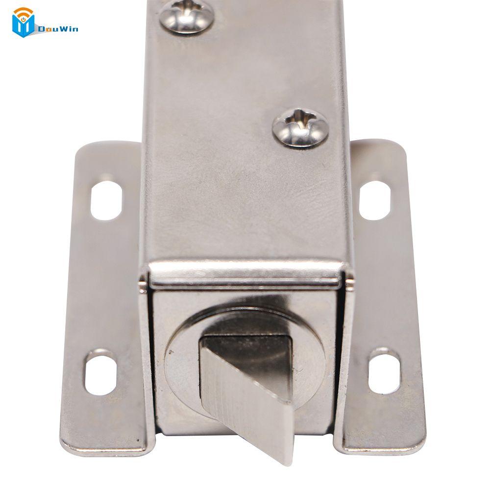 Top Electronic Door Lock Access Door Lock Dc 12v 24 V Samll Lock Access Control For Cabinet Drawer Locked Fr Door Locks Electronic Door Locks Access Control