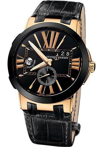 Ulysse Nardin Executive Dual Time Watch 246-00/42