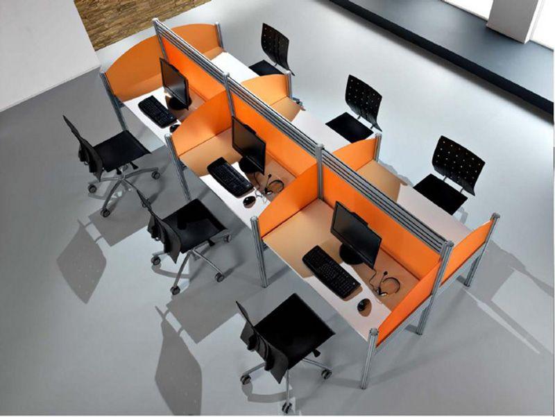 Estaci n de trabajo 12 ok pinterest oficinas for Oficinas modulares