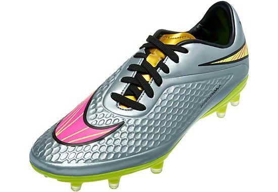 Nike Neymar Hypervenom Phelon Fg Soccer Cleats Chrome And Gold Soccer Cleats Nike Soccer Shoes Nike Football Boots