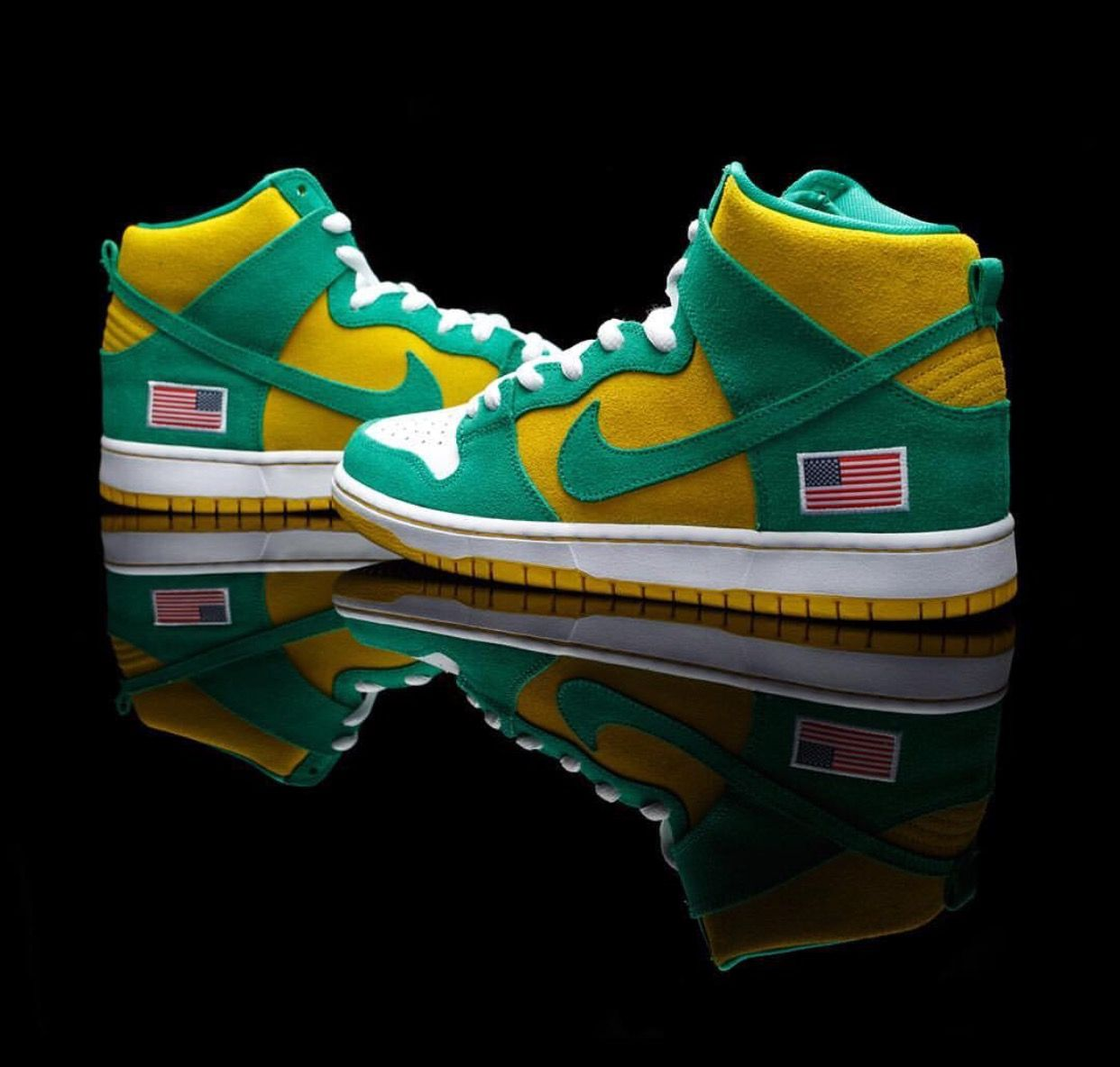 best website 7e1f1 2fb6a Nike Dunk High PRO SB OAKLAND ATHLETICS