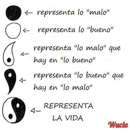 El Significado Del Yin Yang Tattos Quotes Frases Y Yin Yang