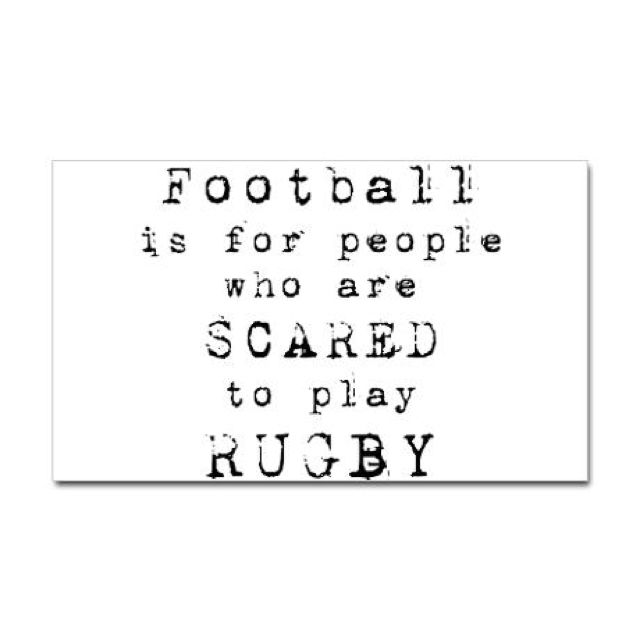 Rugby is BRUTAL.