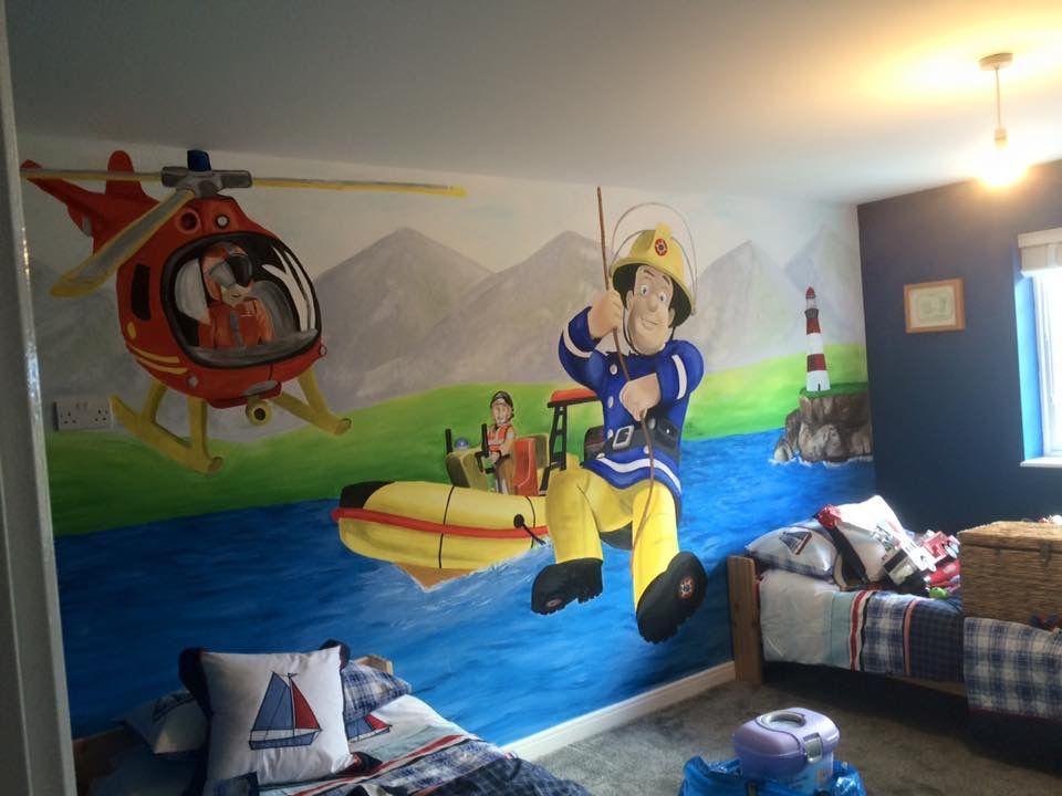 Fireman Sam Mural Part 33