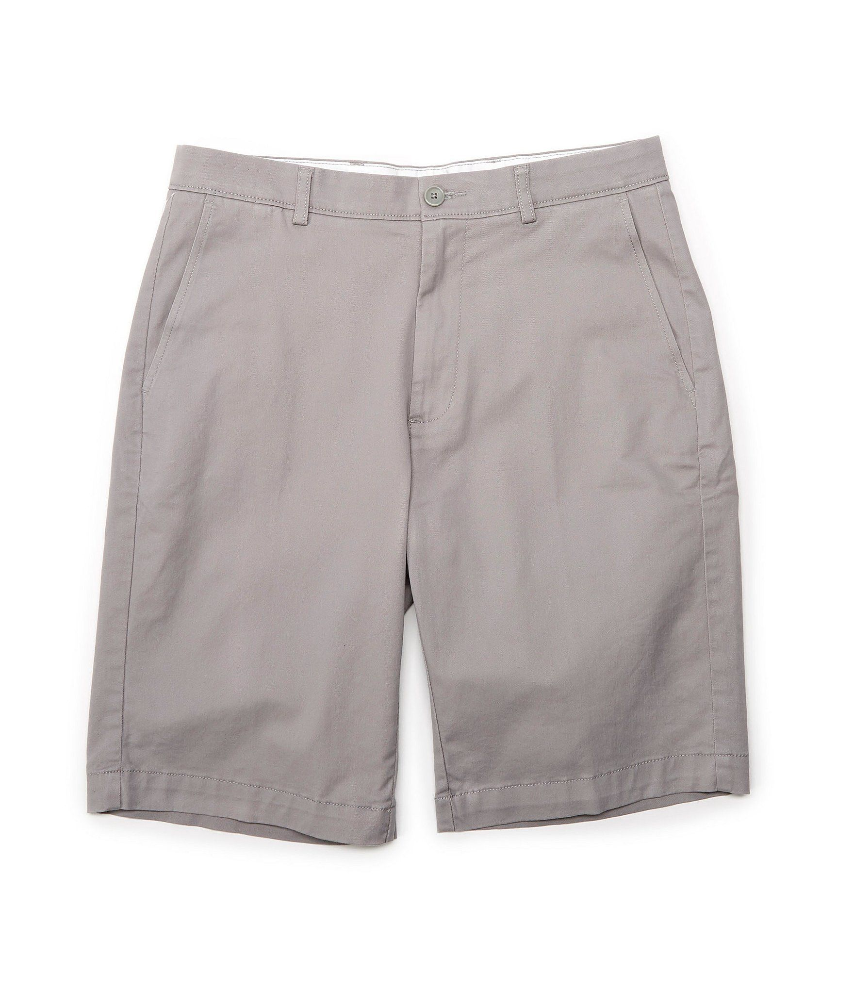 Roundtree Yorke Flat Front 11 Double Inseam Washed Cotton Shorts Dillards Cotton Shorts Cargo Shorts Outfit Mens Fashion Casual Summer [ 2040 x 1760 Pixel ]