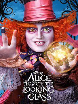 Alice Through The Looking Glass Blu-ray + DVD + Digital HD
