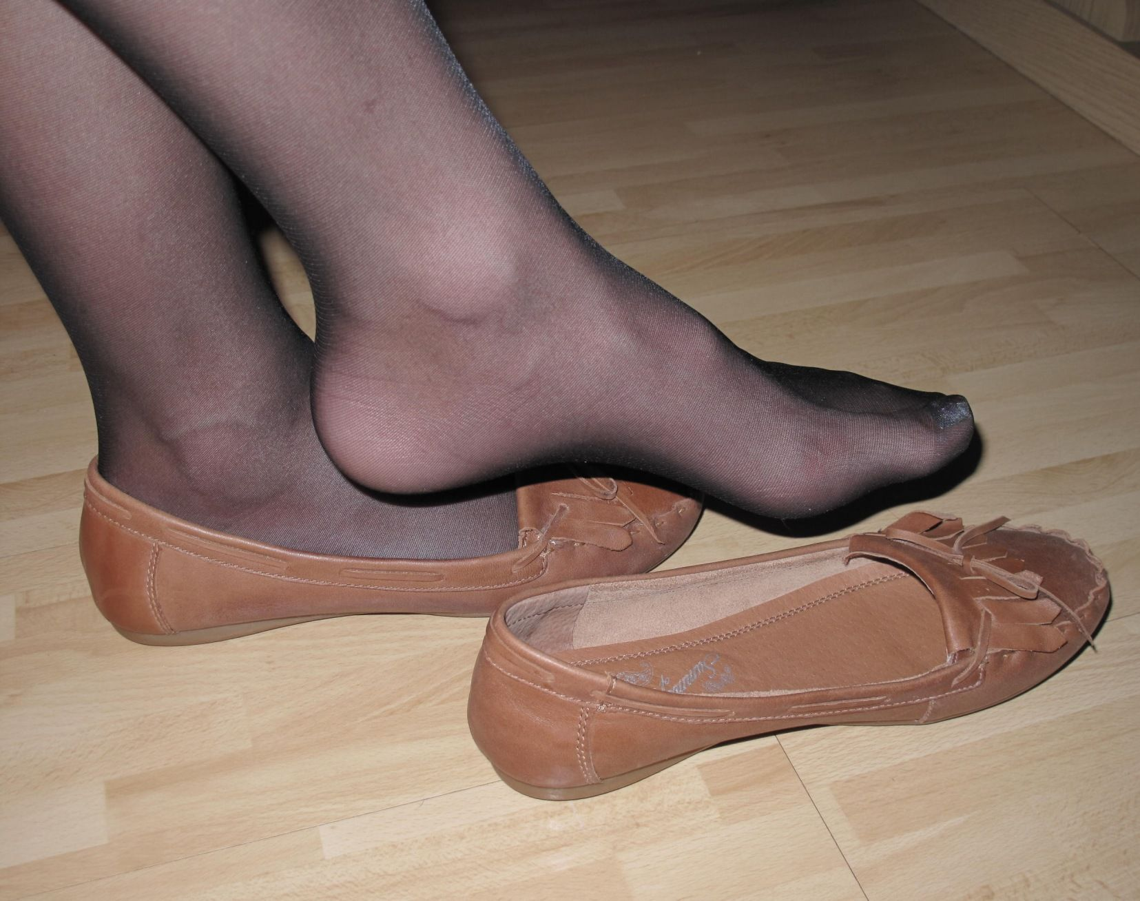 Pantyhose For Sandals 6