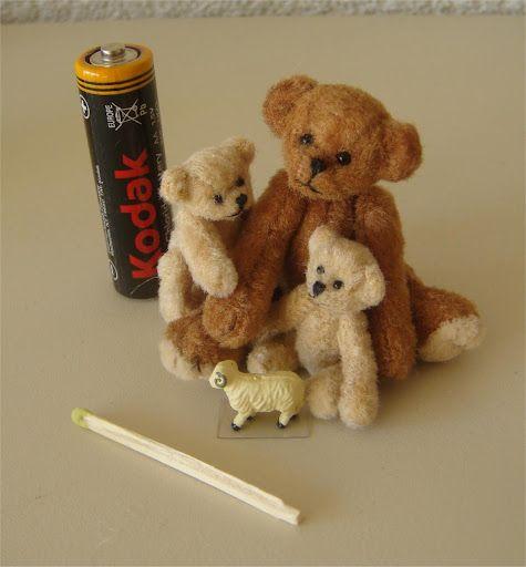 3 little bears handmade by Aty