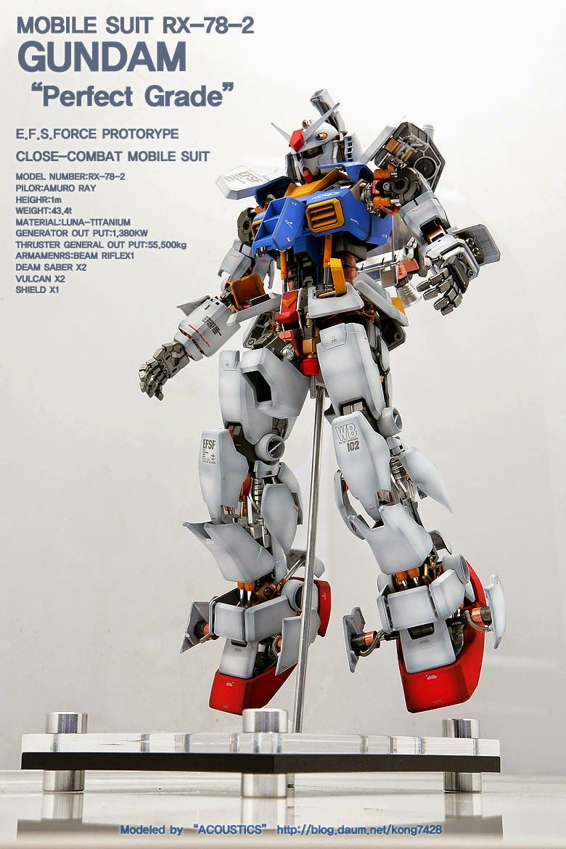 e80b6058208 GUNDAM GUY  PG 1 60 RX-78-2 Gundam  Open Hatch  - Customized Build ...