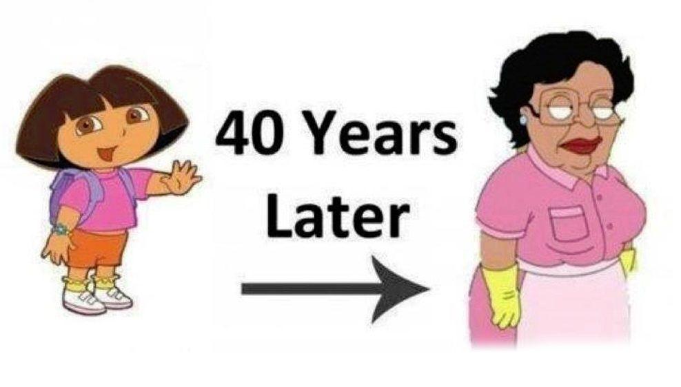 Famous Dora The Explorer Quotes: Dora The Explorer, 40 Years Later Family Guys Consuela