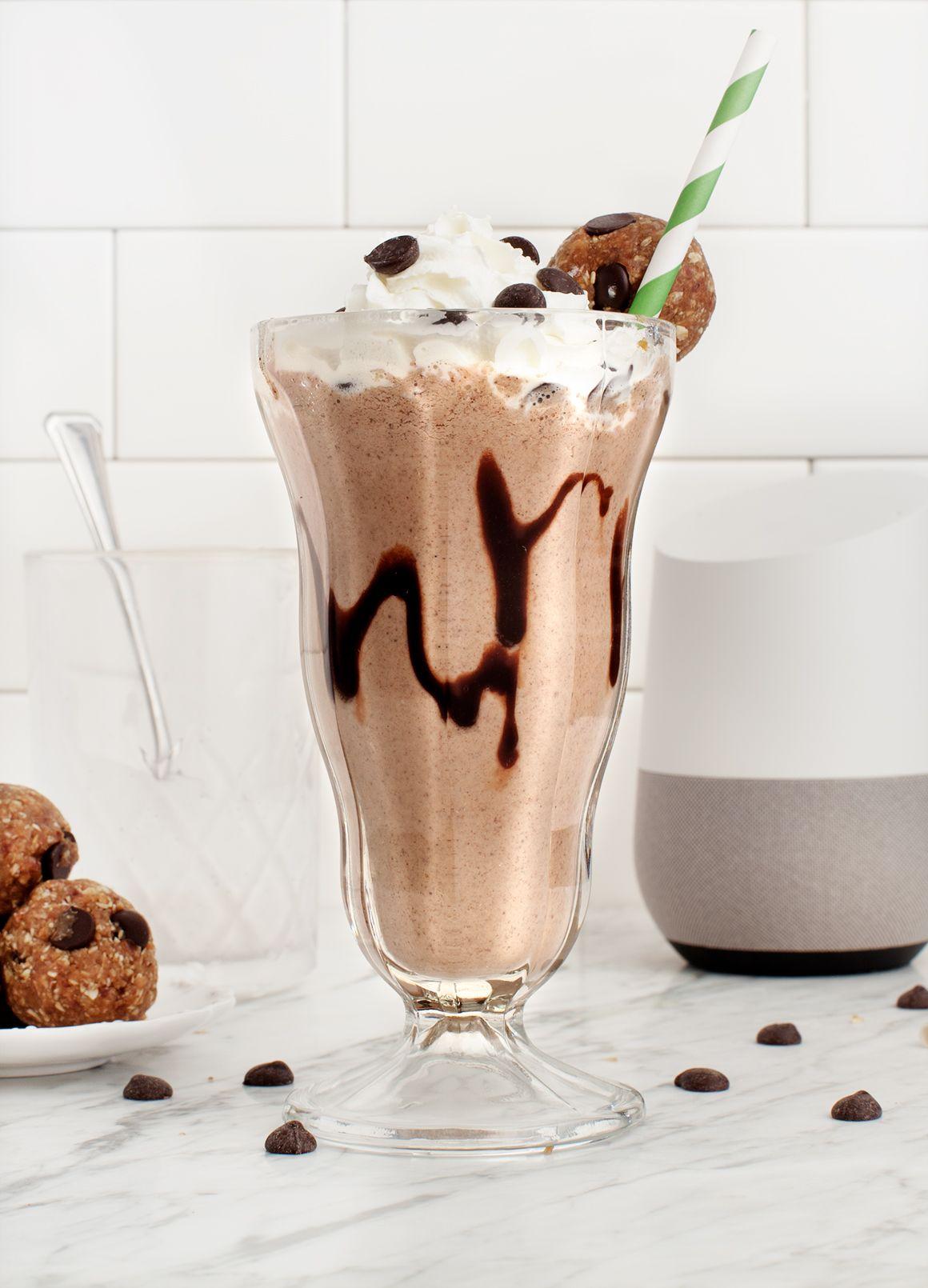 vegan milkshake recept