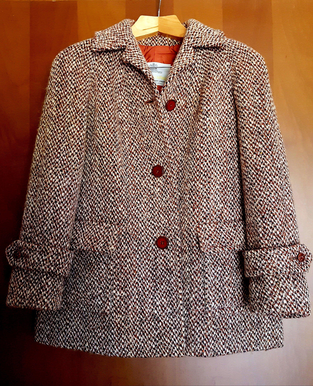 cappotto donna con martingala taglia 52