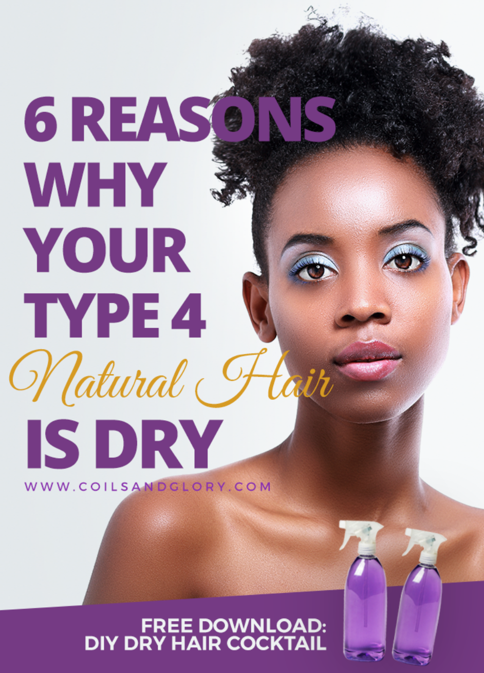 reasons why your type natural hair always feels dry in