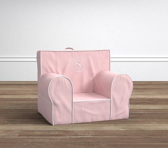 pink slipcover chair refinish outdoor rocking unicorn anywhere only products pinterest