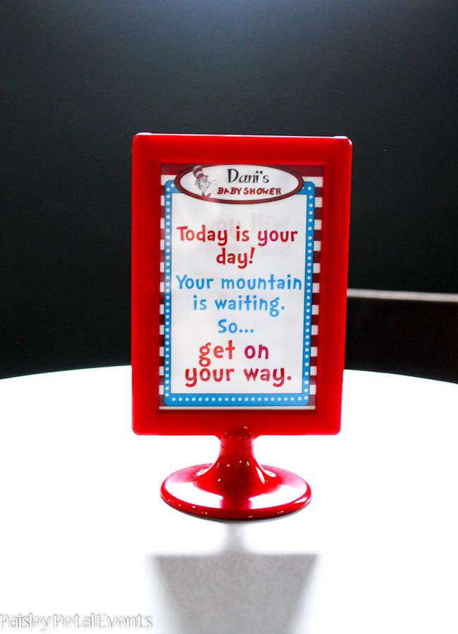 Fabulous Dr. Seuss Party Ideas   Baby shower table centerpieces, Dr ...
