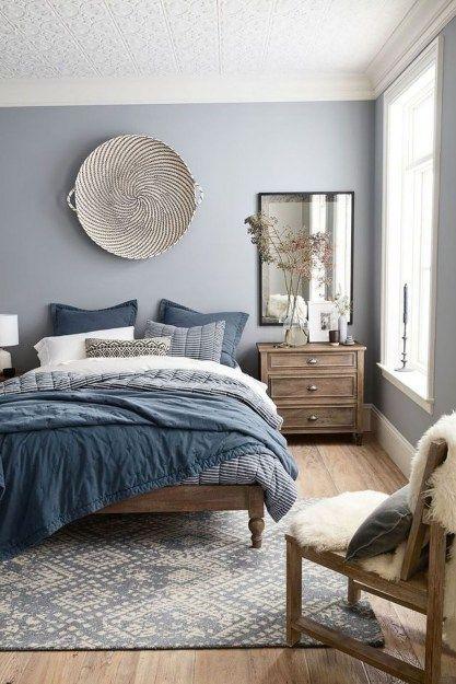 Modern Blue Master Bedroom Ideas Met Afbeeldingen Slaapkamer
