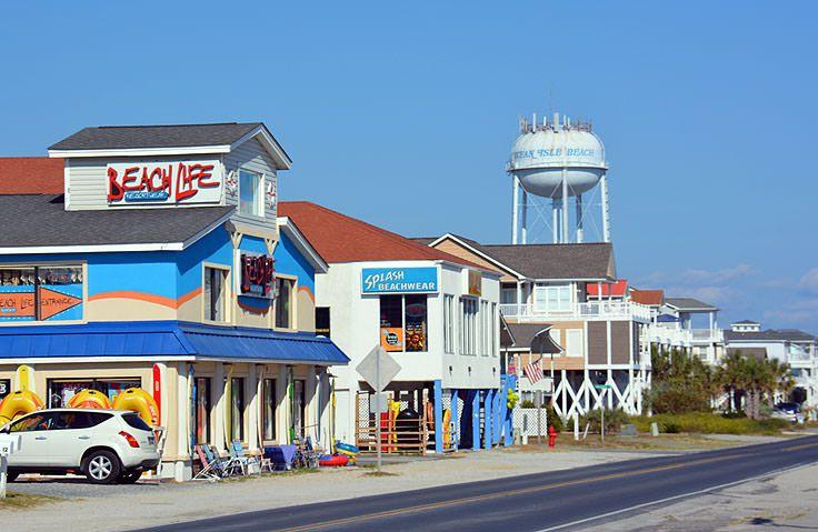 Downtown Ocean Isle Beach North Carolina Nc