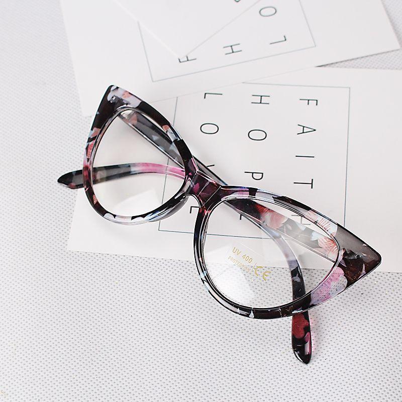 Aliexpress.com  Comprar Ojo de Gato de la vendimia gafas de Diseñador de la 0d596e3ccb