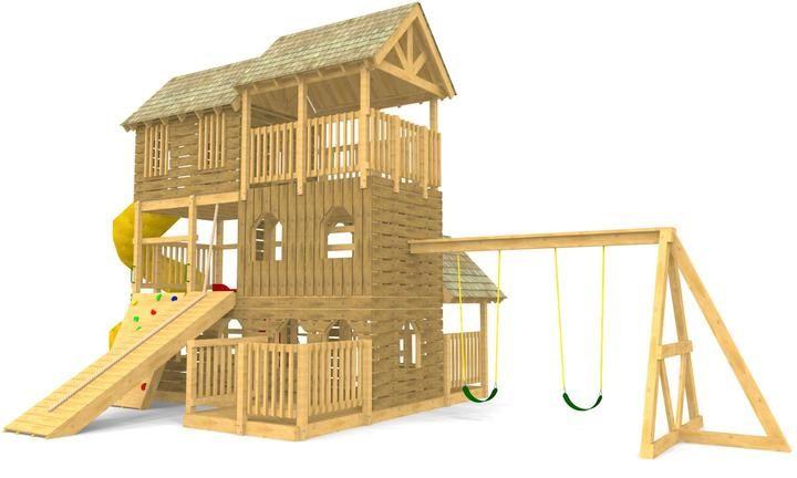 Alpine backyard playground plan backyard playground