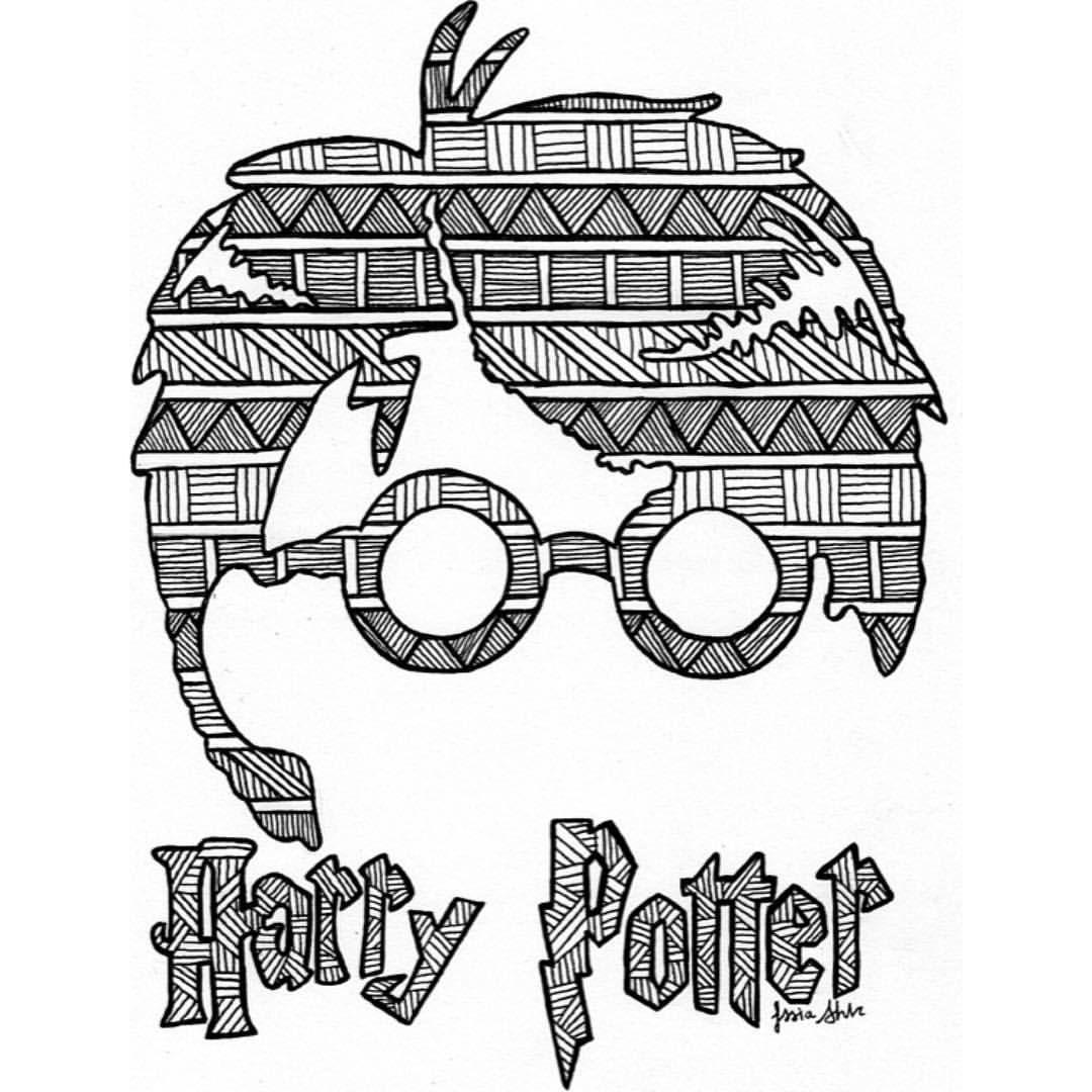 Coloriage Harry Potter 3 | Haut Coloriage HD-Images et ...
