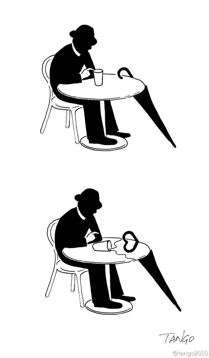 Bộ tranh đơn giản hài hước
