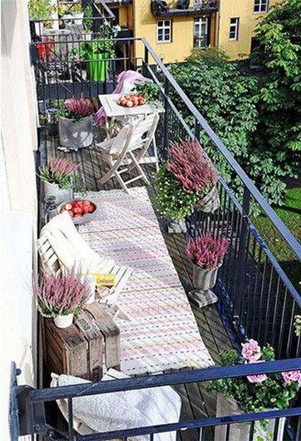 10 balcones urbanos con mucho estilo Balconies, Outdoor ideas and