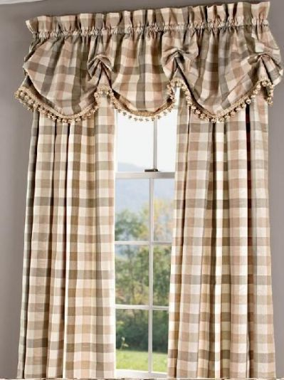 ideas about Country curtains on | tende | Pinterest | Cortinas ...