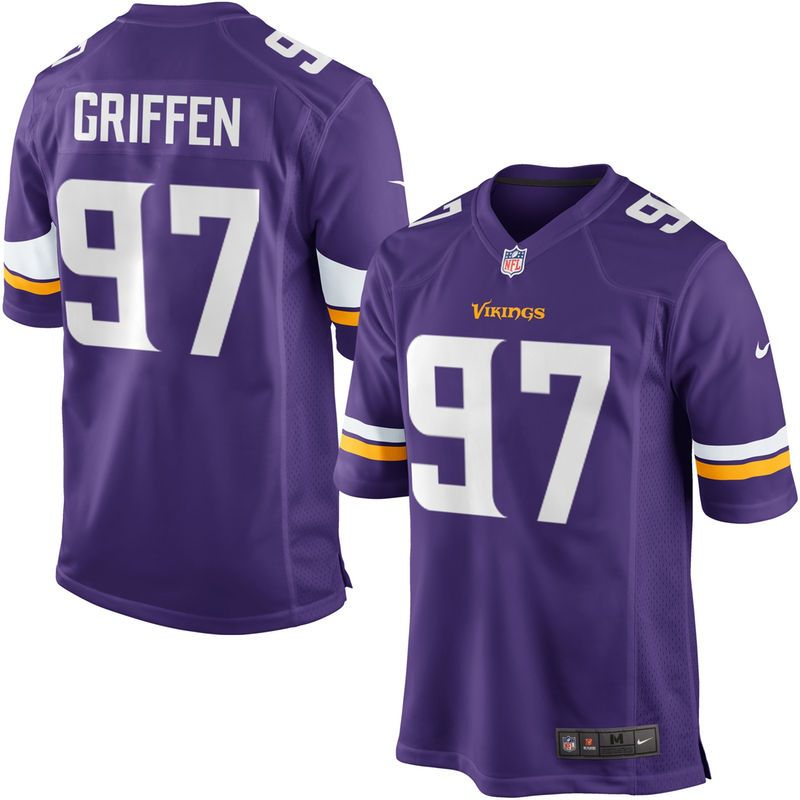 Everson Griffen Minnesota Vikings Youth Nike Team Color Game Jersey - Purple 263958c00