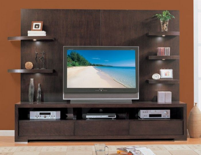 Modern wall tv unit design Pinteres