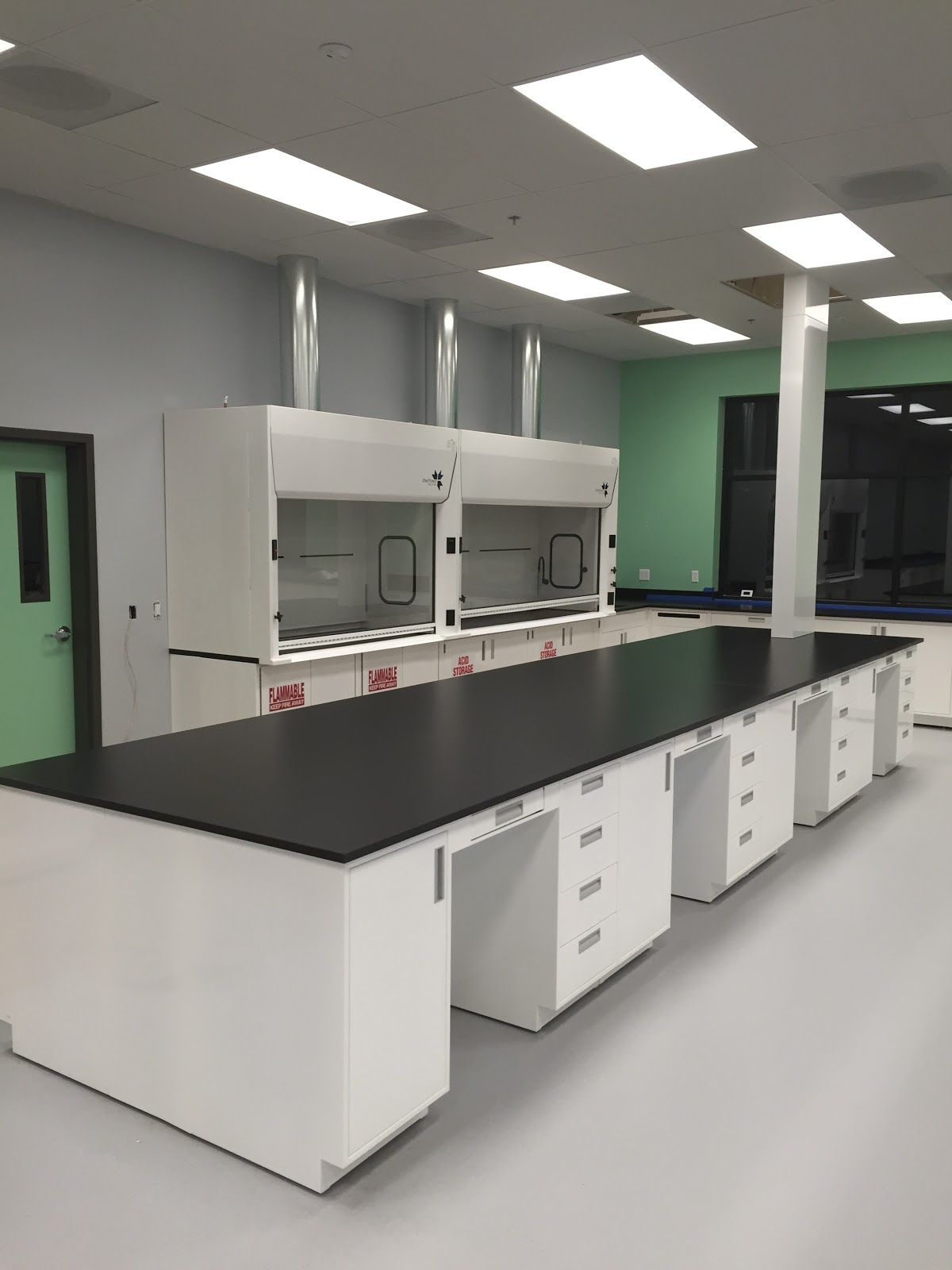 Science Lab Casework Cabinetry Laboratory Design