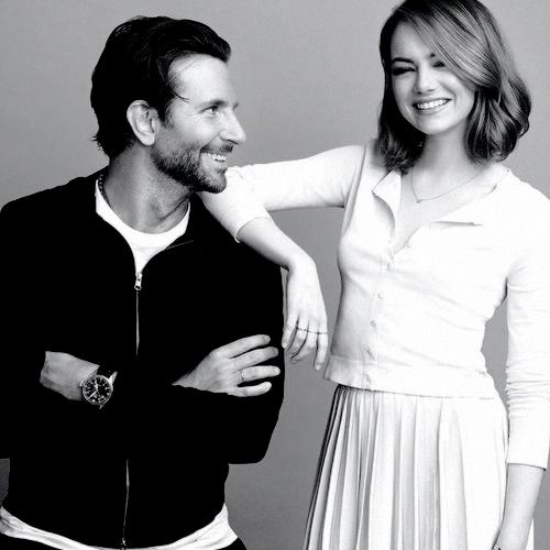 Emma Stone & Bradley Cooper