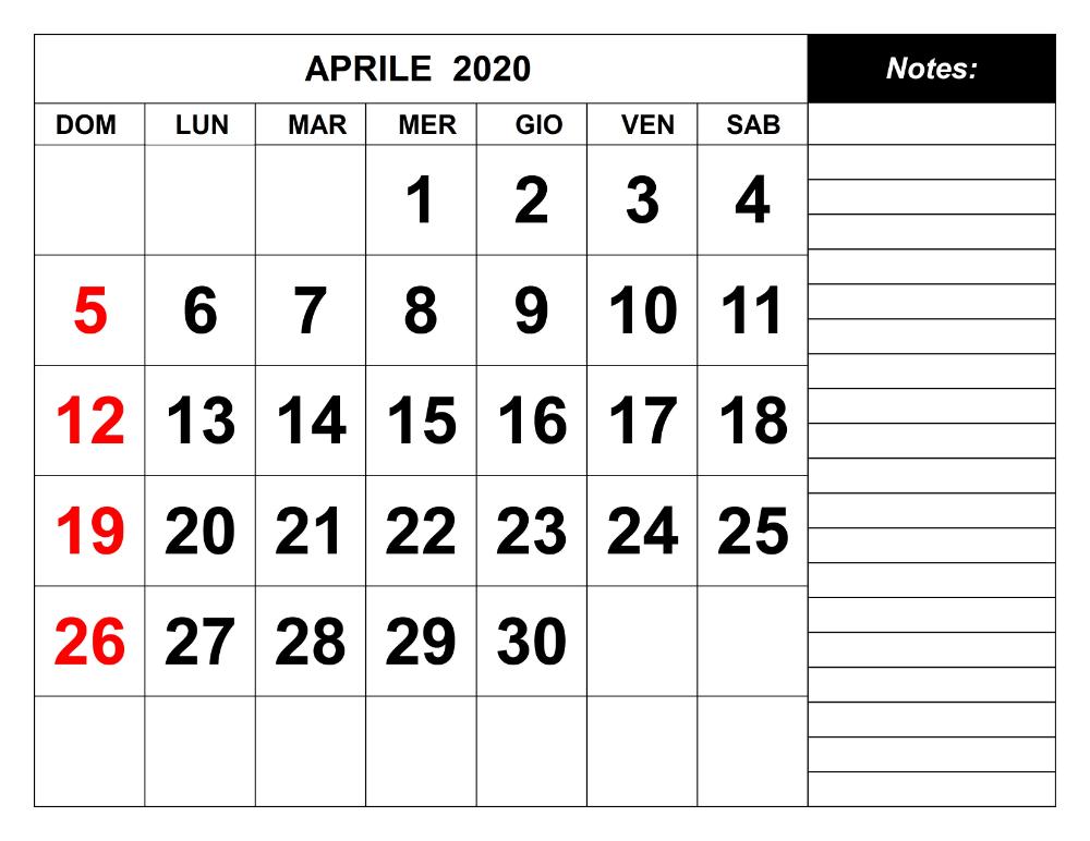 Calendario Aprile 2020 Da Stampare Gratis Abhke Com In 2020 Calendar Template 2020 Calendar Template Calendar Word