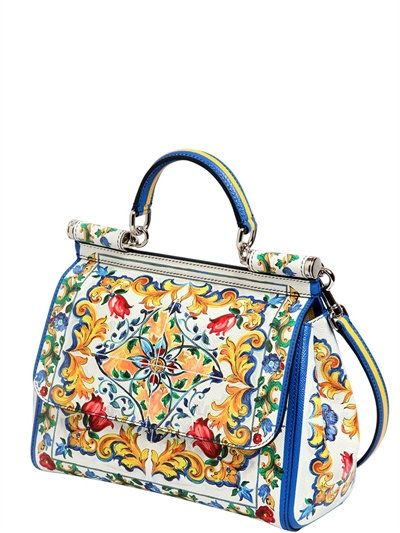 860cf88568 DOLCE   GABBANA - MEDIUM SICILY MAIOLICA DAUPHINE BAG - MULTICOLOR ...