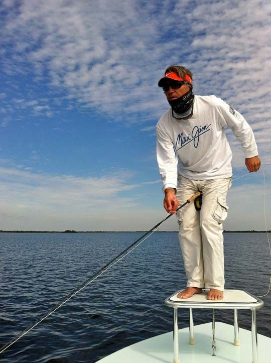 Andy Mill tarpon 2-handed strip
