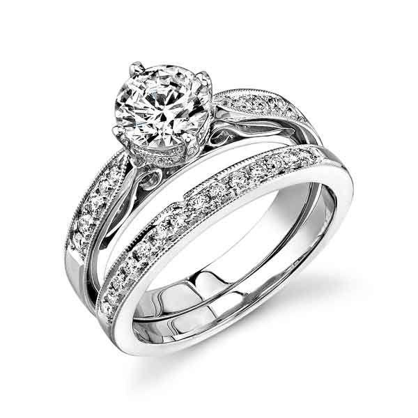 White Gold Wedding Rings American Swiss
