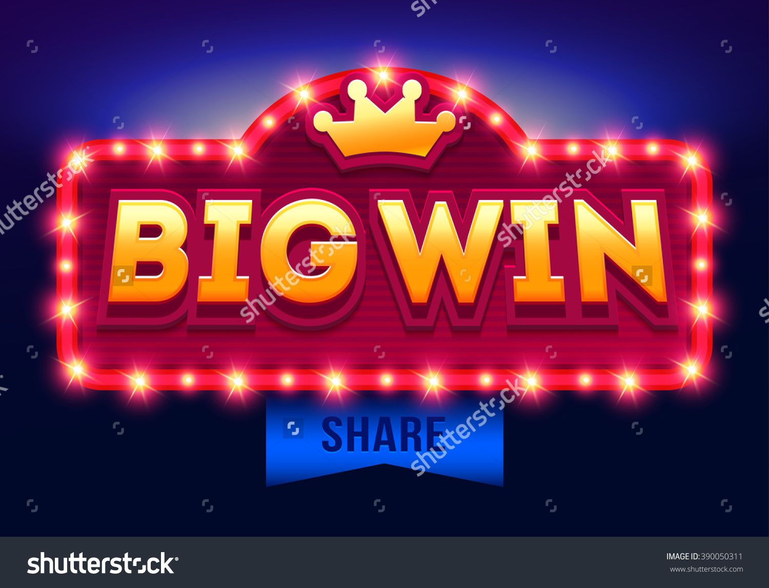 Free Vector | People playing roulette and winning in casino banner