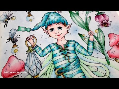 Julie's passion for coloring - YouTube | Fairy, Color ...