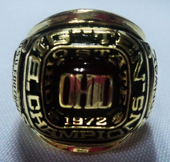 1972 Ohio Buckeyes Ring Ncaa Football Rings Ohio