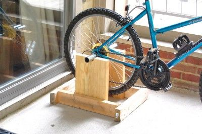 Diy Super Cheap Stand To Turn Your Bike Into A Stationary Bike