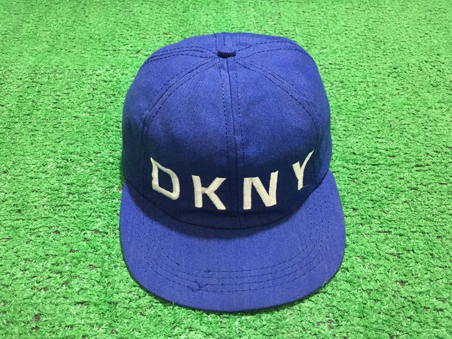 Vintage 90 s DKNY Cap Hat Made in Usa Flexible Cap Donna Karan New York NYC  hip hop Fashion by AllStyle99 on Etsy e3db74b52f3e