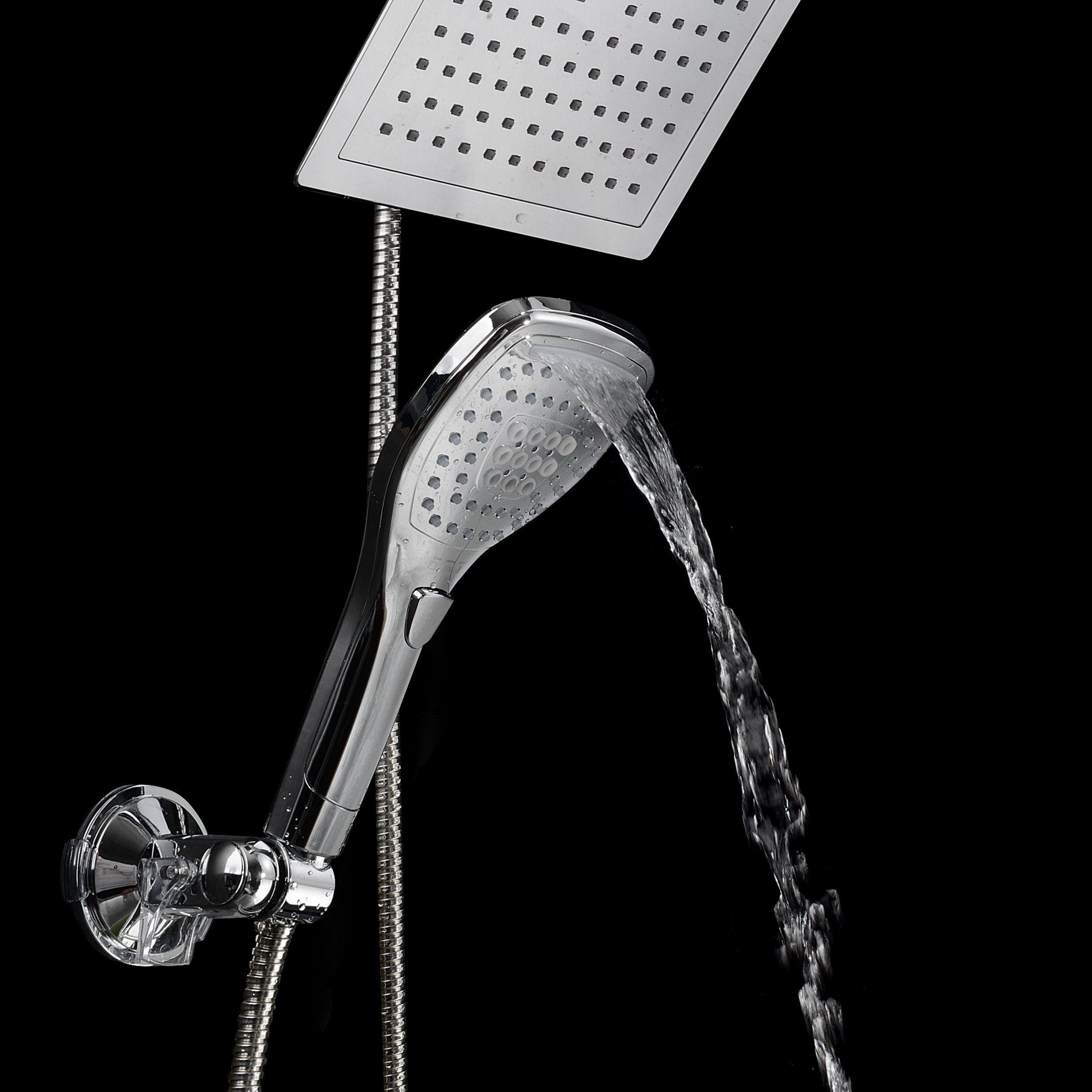 alpha-grp.co.jp Home & Kitchen Showerheads Convenient Push-Button ...