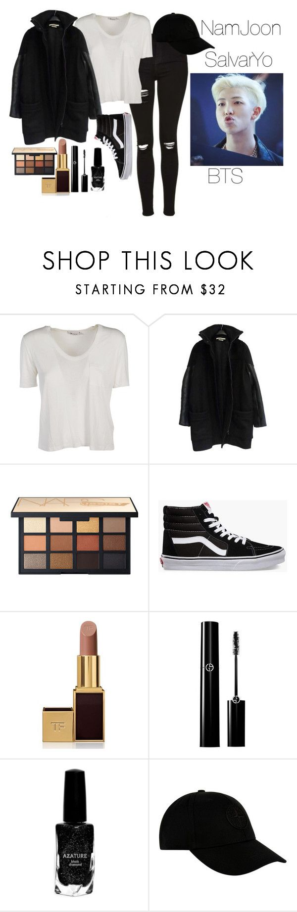 """sAVE ME"" by amor-de-pandicornios on Polyvore featuring Alexander Wang, Givenchy, Vans, Tom Ford, Azature and STONE ISLAND"