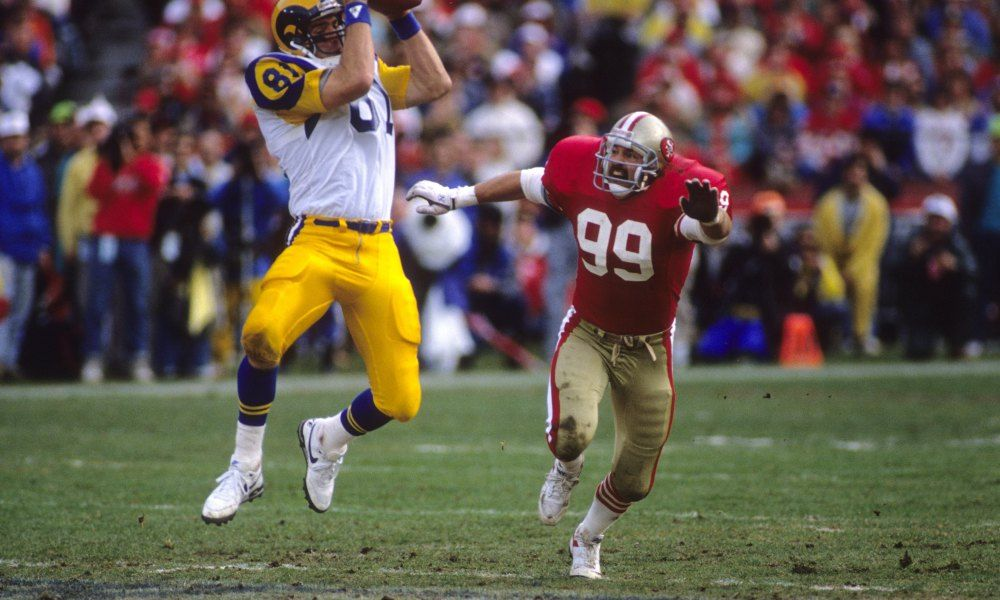 Creating The All Time Rams Roster Tight End Tight End Nfc Championship Game 49ers